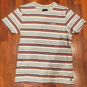 HUF Stripped T-shirt Size Medium